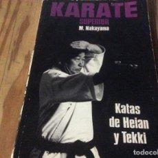 Libros de segunda mano: M. NAKAYAMA-KATAS DE KARATE HEIAN 5-EDITORIAL FHER. Lote 147093730