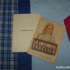Libros de segunda mano: LA ENFERMERA PRCTICA , DOCTOR RUIZ GALAN . Lote 147321034
