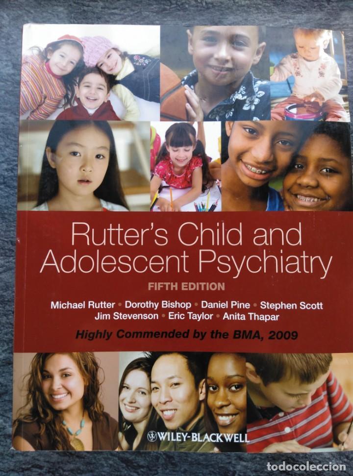 RUTTER'S CHILD AND ADOLESCENT PSYCHIATRY,5 EDIC. INGLES.NUEVO CON CD. 1230PP.27X22 (Libros de Segunda Mano - Ciencias, Manuales y Oficios - Medicina, Farmacia y Salud)
