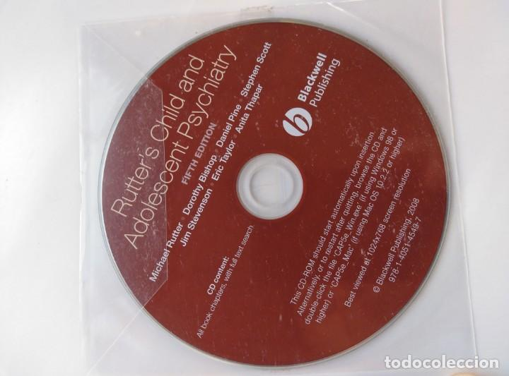 Libros de segunda mano: RUTTER'S CHILD AND ADOLESCENT PSYCHIATRY,5 EDIC. INGLES.NUEVO CON CD. 1230PP.27X22 - Foto 3 - 147594598