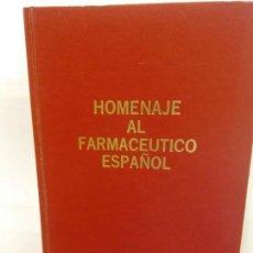 Libros de segunda mano: STQ.HOMENAJE AL FARMACEUTICO ESPAÑOL.BRUMART TU LIBRERIA.. Lote 147878366