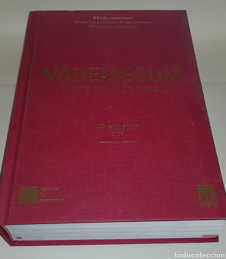 VADEMECUM - INTERNACIONAL- 49 EDICION - ARM04 (Libros de Segunda Mano - Ciencias, Manuales y Oficios - Medicina, Farmacia y Salud)