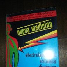 Libros de segunda mano: JOSÉ CASTRO, ELECTROBIOLÓGICA ESTÁTICA DINAMICA. Lote 149408538