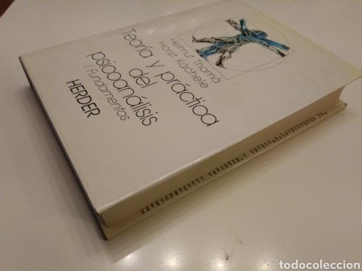Libros de segunda mano: TEORIA Y PRACTICA DEL PSICOANÁLISIS I. FUNDAMENTOS HELMUT THOMA HORST KACHELE HERDER 1989 - Foto 2 - 149545105