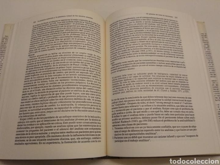 Libros de segunda mano: TEORIA Y PRACTICA DEL PSICOANÁLISIS I. FUNDAMENTOS HELMUT THOMA HORST KACHELE HERDER 1989 - Foto 6 - 149545105