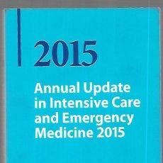 Livros em segunda mão: 2015 ANNUAL UPDATE IN INTENSIVE CARE AND EMERGENCY MEDICINE. Lote 149661910