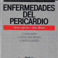 Livros em segunda mão: ENFERMEDADES DEL PERICARDIO , NUEVOS ASPECTOS Y VIEJAS DILEMAS. Lote 149702806