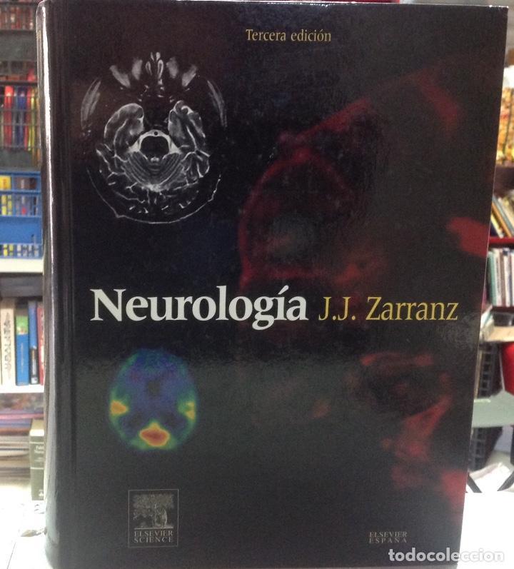 NEUROLOGIA, JUAN. J. ZARRANZ, EDITORIAL ELSEIVER, 2004, 21X29CM 974 PAGINAS (Libros de Segunda Mano - Ciencias, Manuales y Oficios - Medicina, Farmacia y Salud)