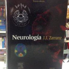 Libros de segunda mano: NEUROLOGIA, JUAN. J. ZARRANZ, EDITORIAL ELSEIVER, 2004, 21X29CM 974 PAGINAS. Lote 149841538