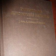 Libros de segunda mano: ENFERMEDADES AUTOINMUNES SISTEMICAS,1998, FONT-CERVERA-INGELMO. TELA 460PP 24X17. Lote 150292330