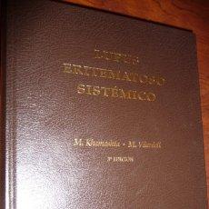 Libros de segunda mano: LUPUS ERITEMATOSO SISTEMICO.2009,KHAMASHTA-VILARDELL, 3ª EDIC. 568PP. CARTON 27X20. Lote 150292918