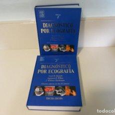 Libros de segunda mano - DIAGNOSTICO POR ECOGRAFIA DOS VOLUMENES ELSEVIER MOSBY NUEVOS TERCERA EDICION - 150715182