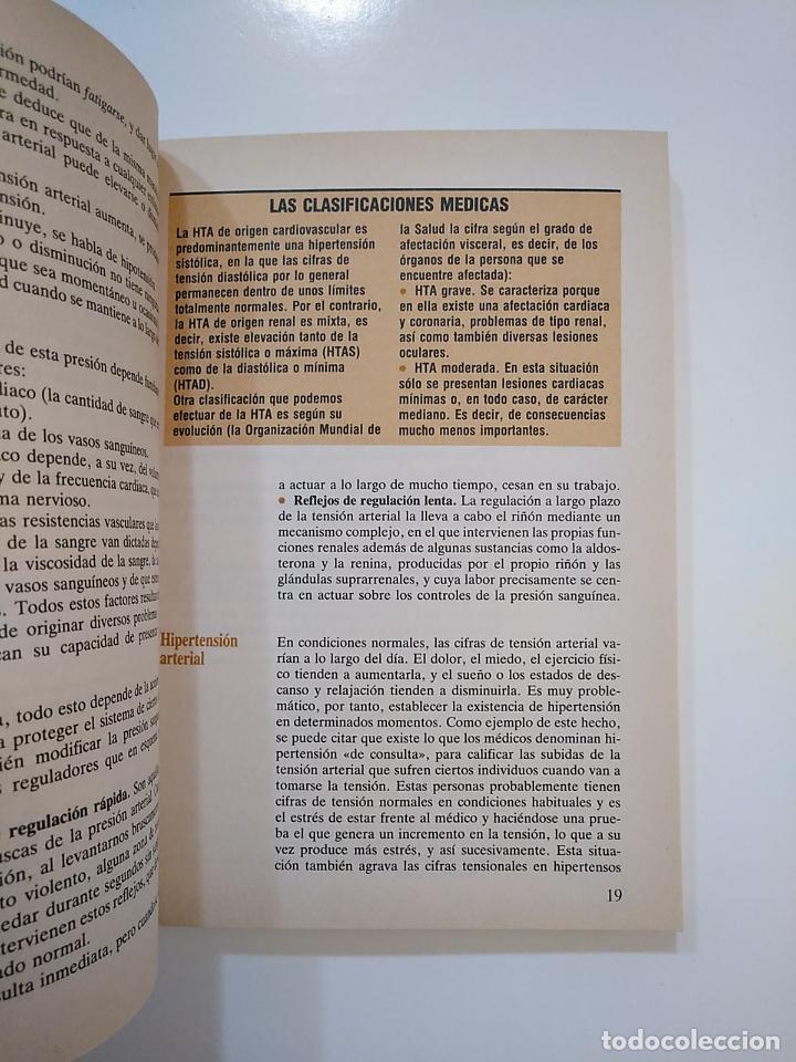 Libros de segunda mano: HIPERTENSION. - COMO SE MANTIENE A RAYA. DR. LUCIANO CANDEL. DR. JORGE SALVA y OTROS. TDK364 - Foto 2 - 151218478