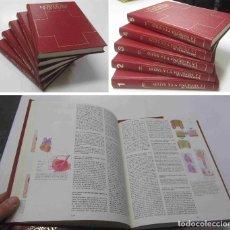 Libros de segunda mano: ENCICLOPEDIA DE LA MEDICINA Y DE LA SALUD. EDITORIAL ASURI 5 TOMOS 1984. Lote 151435134