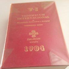 Libros de segunda mano: VADEMECUM INTERNACIONAL ESP. FARMACÉUTICAS Y BIOLÓGICAS. Lote 151709714