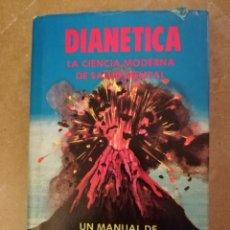 Libros de segunda mano: DIANÉTICA. LA CIENCIA MODERNA DE SALUD MENTAL (L. RONALD HUBBARD). Lote 151801454