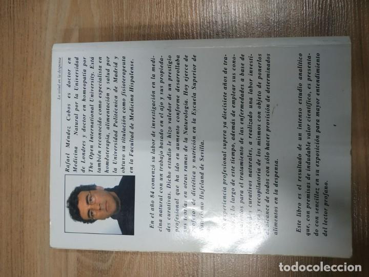 Libros de segunda mano: LA SALUD EN LA DESPENSA, Remedios caseros para reforzar la energía curativa de nuestro organismo, - Foto 2 - 152157374