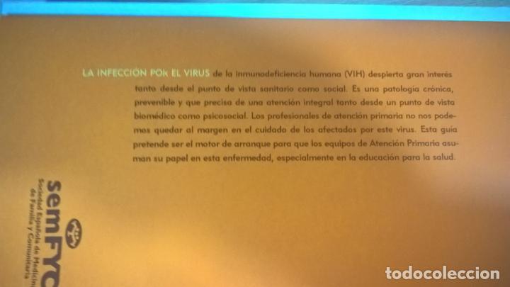 Libros de segunda mano: RECOMENDACIONES SEMFYC: VIH-SIDA. - Foto 2 - 152157446