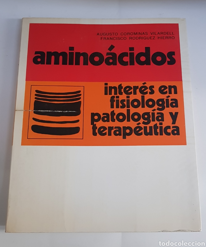 AMINOACIDOS - INTERES EN FISIOLOGIA PATOLOGIA TERAPEUTICA - ARM06 (Libros de Segunda Mano - Ciencias, Manuales y Oficios - Medicina, Farmacia y Salud)