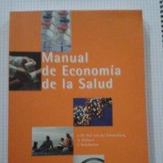 Libros de segunda mano: MANUAL ECONOMÍA DE LA SALUD. Lote 152332122