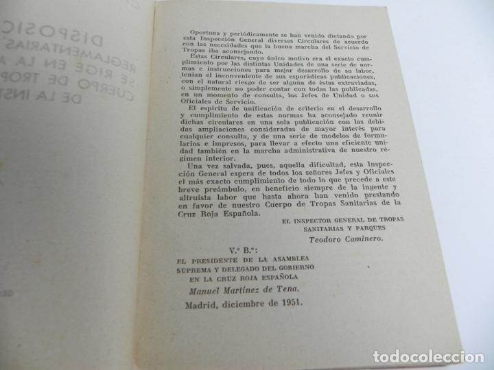 Libros de segunda mano: CRUZ ROJA ESPAÑOLA (DISPOSICIONES REGLAMENTARIAS.....) MADRID -1951 - Foto 2 - 152401194