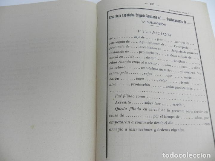 Libros de segunda mano: CRUZ ROJA ESPAÑOLA (DISPOSICIONES REGLAMENTARIAS.....) MADRID -1951 - Foto 6 - 152401194