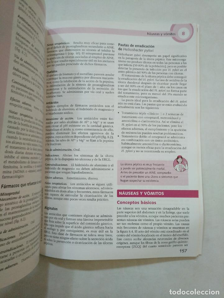 Libros de segunda mano: LO ESENCIAL EN FARMACOLOGIA. YASSIN DAWSON. CURSOS CRASH. ELSEVIER MOSBY. TDK371 - Foto 2 - 152726594