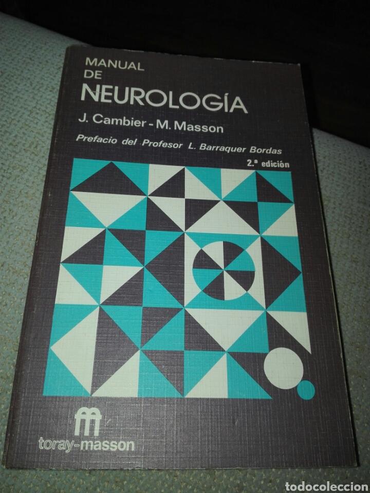 MANUAL DE NEUROLOGIA J. CAMBIER, M. MASSON EDITORIAL:TORAY MASSON (Libros de Segunda Mano - Ciencias, Manuales y Oficios - Medicina, Farmacia y Salud)
