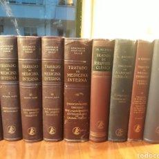 Libros de segunda mano: TRATADO DE MEDICINA INTERNA,TRATADO DE TERAPEUTICA CLINICA,TRATADO DE ANATOMIA PATOLOGICA...... Lote 152938153