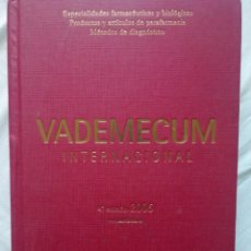 Libros de segunda mano: LIBRO VADEMECUM INTERNACIONAL 47 EDICION 2006. Lote 153091786