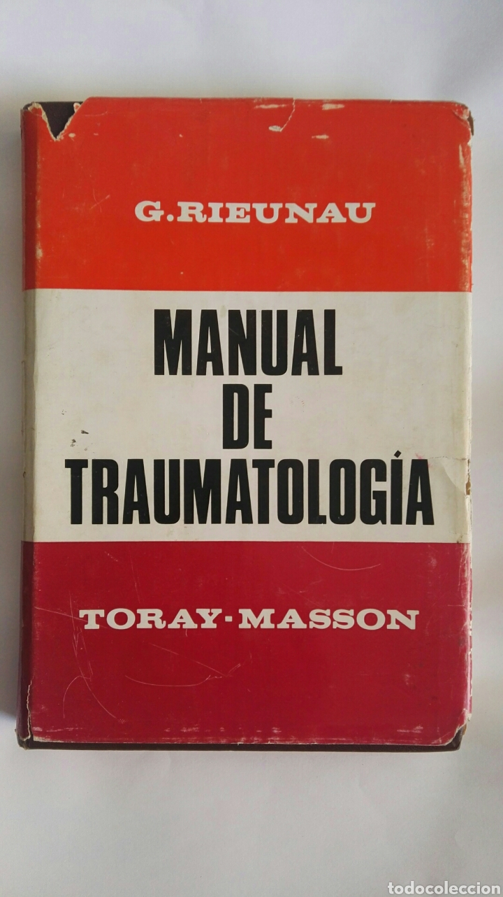MANUAL DE TRAUMATOLOGÍA TORAY-MASSON (Libros de Segunda Mano - Ciencias, Manuales y Oficios - Medicina, Farmacia y Salud)