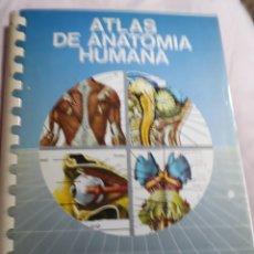 Libros de segunda mano: LIBRO: COLECCIÓN ATLAS DE ANATOMÍA HUMANA.-EDICIONES JOVER.- AÑO 1989. Lote 153529788