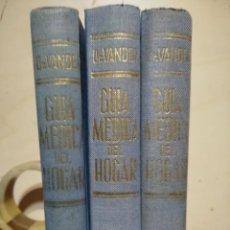 Libros de segunda mano - GUIA MEDICA DEL HOGAR SALUD PARA FAMILIAS DR A. VANDER TOMOS I, II, III 1965 - 154015042