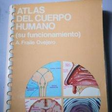 Libros de segunda mano: ATLAS DEL CUERPO HUMANO EDICIONES JOVER. Lote 154250362