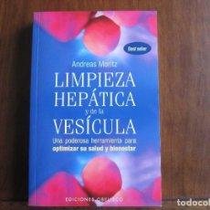 Libros de segunda mano: LIMPIEZA HEPÁTICA Y DE LA VESÍCULA. Lote 154269678