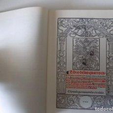 Libros de segunda mano: LIBRERIA GHOTICA. LUIS LOBERA. LIBRO DE LAS CUATRO ENFERMEDADES CORTESANAS.FACSÍMIL S. XVI. FOLIO. Lote 154350734