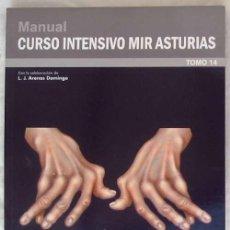 Libros de segunda mano: REUMATOLOGÍA - MANUAL CURSO INTENSIVO MIR ASTURIAS 2012 - VER INDICE Y DESCRIPCIÓN. Lote 154418718