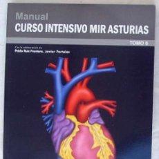 Libros de segunda mano: CARDIOLOGÍA - MANUAL CURSO INTENSIVO MIR ASTURIAS 2012 - VER INDICE Y DESCRIPCIÓN. Lote 154419362
