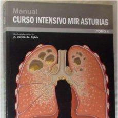 Libros de segunda mano: NEUMOLOGÍA / CIRUGIA TORÁCICA - MANUAL CURSO INTENSIVO MIR ASTURIAS 2012 - VER INDICE Y DESCRIPCIÓN. Lote 210835906