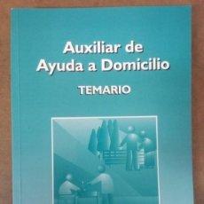 Libros de segunda mano: AUXILIAR DE AYUDA A DOMICILIO TEMARIO - MAD - MUY BUEN ESTADO - OFM15. Lote 154801874