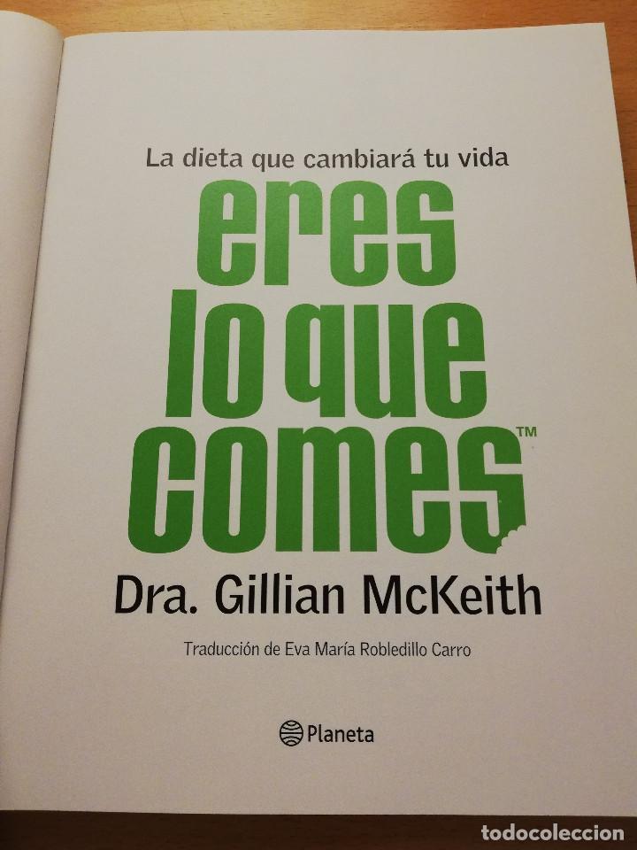 Eres Lo Que Comes La Dieta Que Cambiará Tu Vid Buy Books Of Medicine Pharmacy And Health At Todocoleccion 154953486
