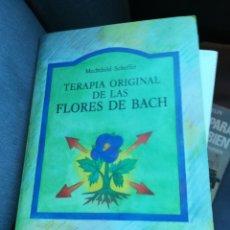 Libros de segunda mano: TERAPIA ORIGINAL DE LAS FLORES DE BACH POR MECHTHILD SCHEFFER. PAIDÓS PRIMERA EDICIÓN. Lote 155147532