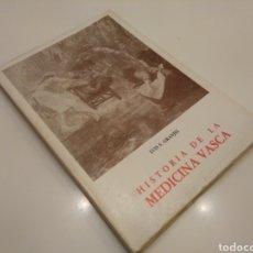 Libros de segunda mano - HISTORIA DE LA MEDICINA VASCA LUIS S. GRANJEL SALAMANCA 1983 PAIS VASCO ILUSTRADO - 155178698