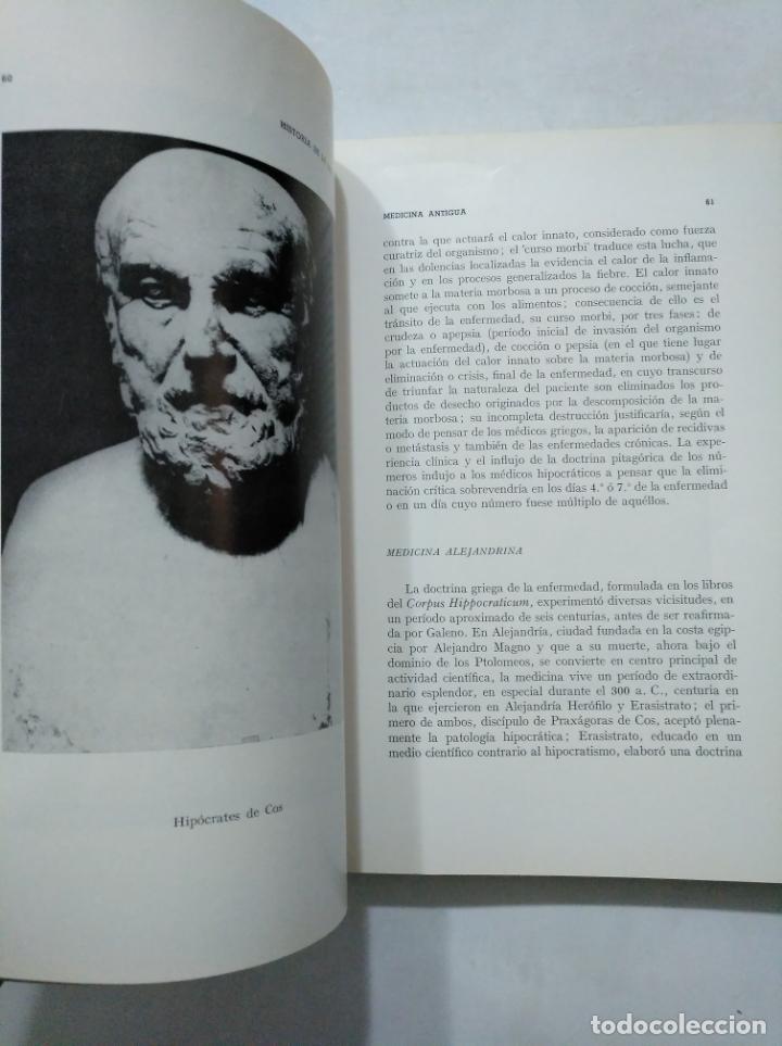 Libros de segunda mano: HISTORIA DE LA MEDICINA. - LUIS S. GRANJEL. TDK377 - Foto 2 - 155564446