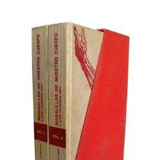 Libros de segunda mano: MARAVILLAS DE NUESTRO CUERPO - TOMOS I Y II. Lote 155565494