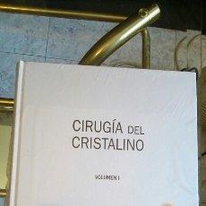 Libros de segunda mano: CIRUGÍA DEL CRISTALINO (2 VOLÚMENES). Lote 155599393