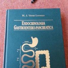 Libros de segunda mano: LIBRO. ENDOCRINOLOGÍA GASTROENTERO-PANCREÁTICA. ESTÁ NUEVO. SIN USAR.. Lote 155792730