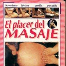 Libros de segunda mano: EL PLACER DEL MASAJE. ANÓNIMO. Lote 156684962