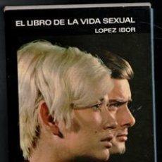 Libros de segunda mano: EL LIBRO DE LA VIDA SEXUAL, LÓPEZ IBOR. Lote 156791956
