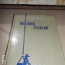Libros de segunda mano: BIOLOGÍA CELULAR. 1.965. Lote 157019574